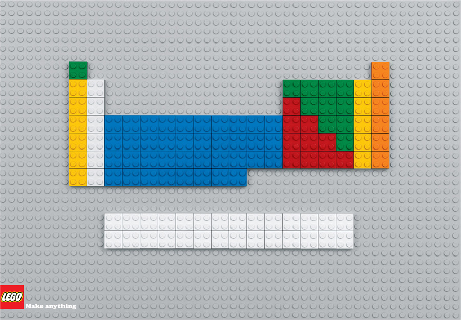 Print Ad Lego Periodic Table