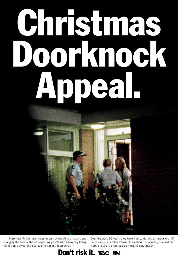 Print Ad Tac Doorknock