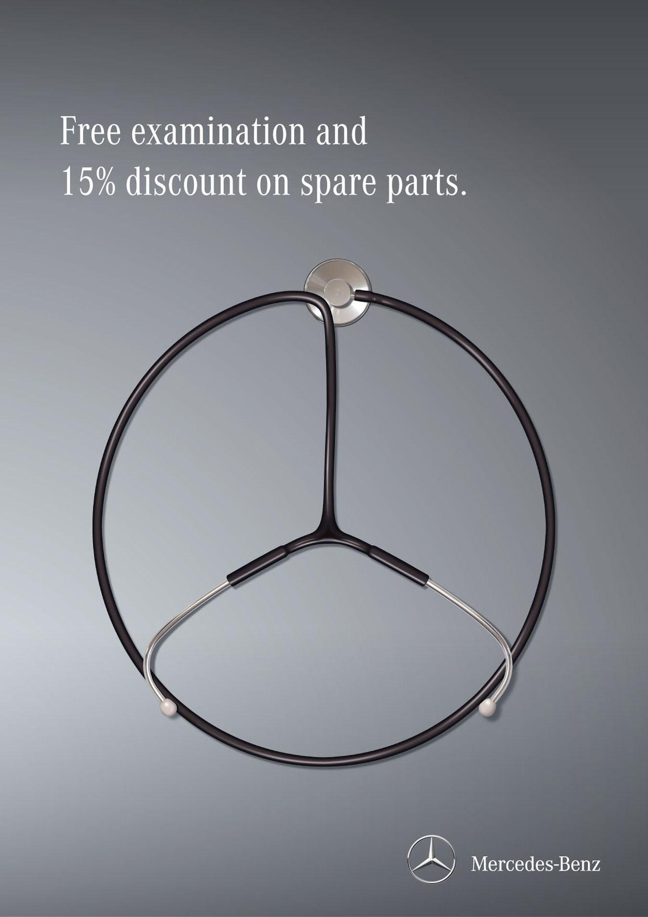 Print Ad MercedesBenz Service - Mercedes benz service and parts