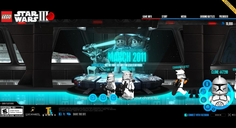 Star Wars Lego Games Online