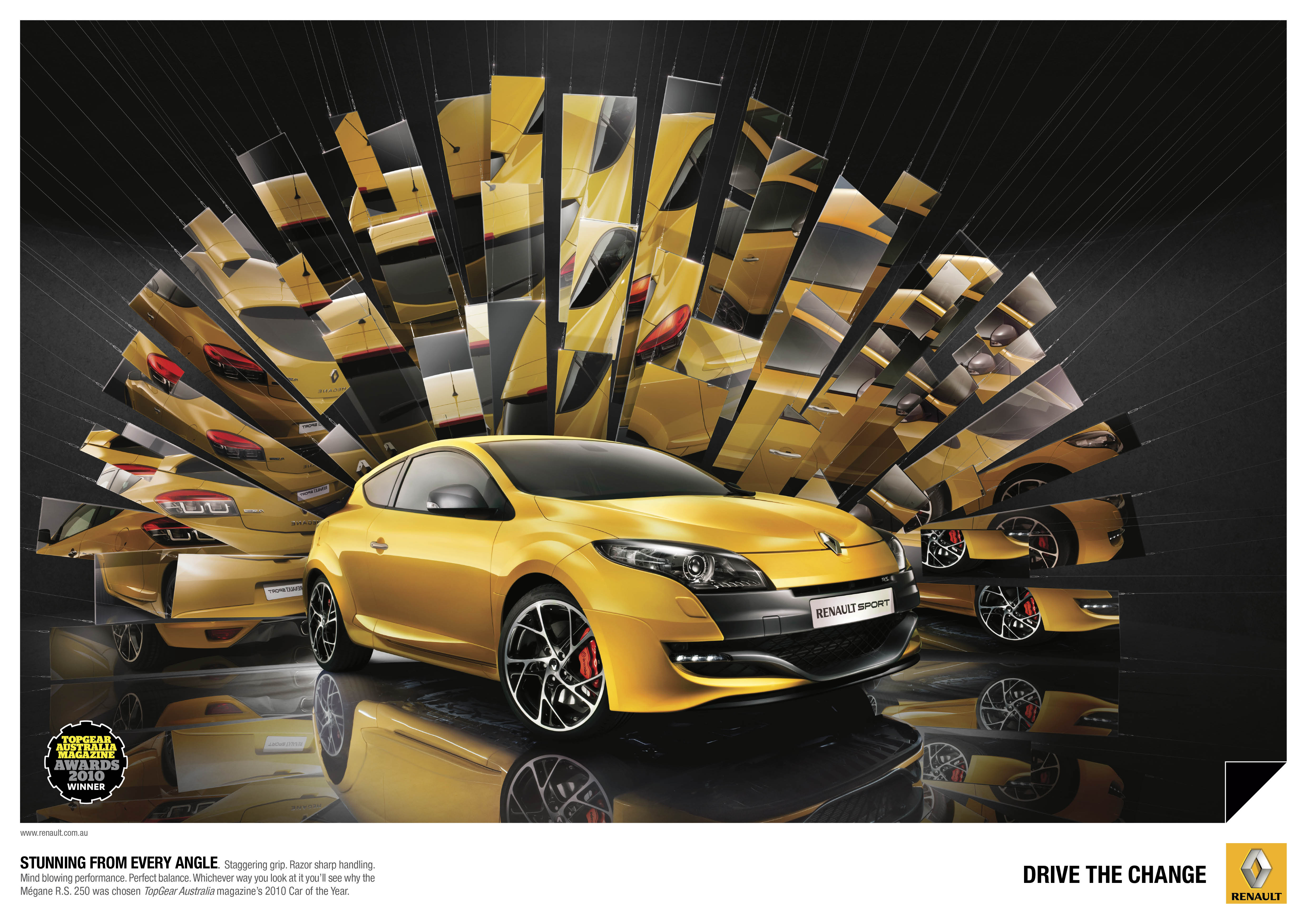 print ad renault renault car of the year. Black Bedroom Furniture Sets. Home Design Ideas
