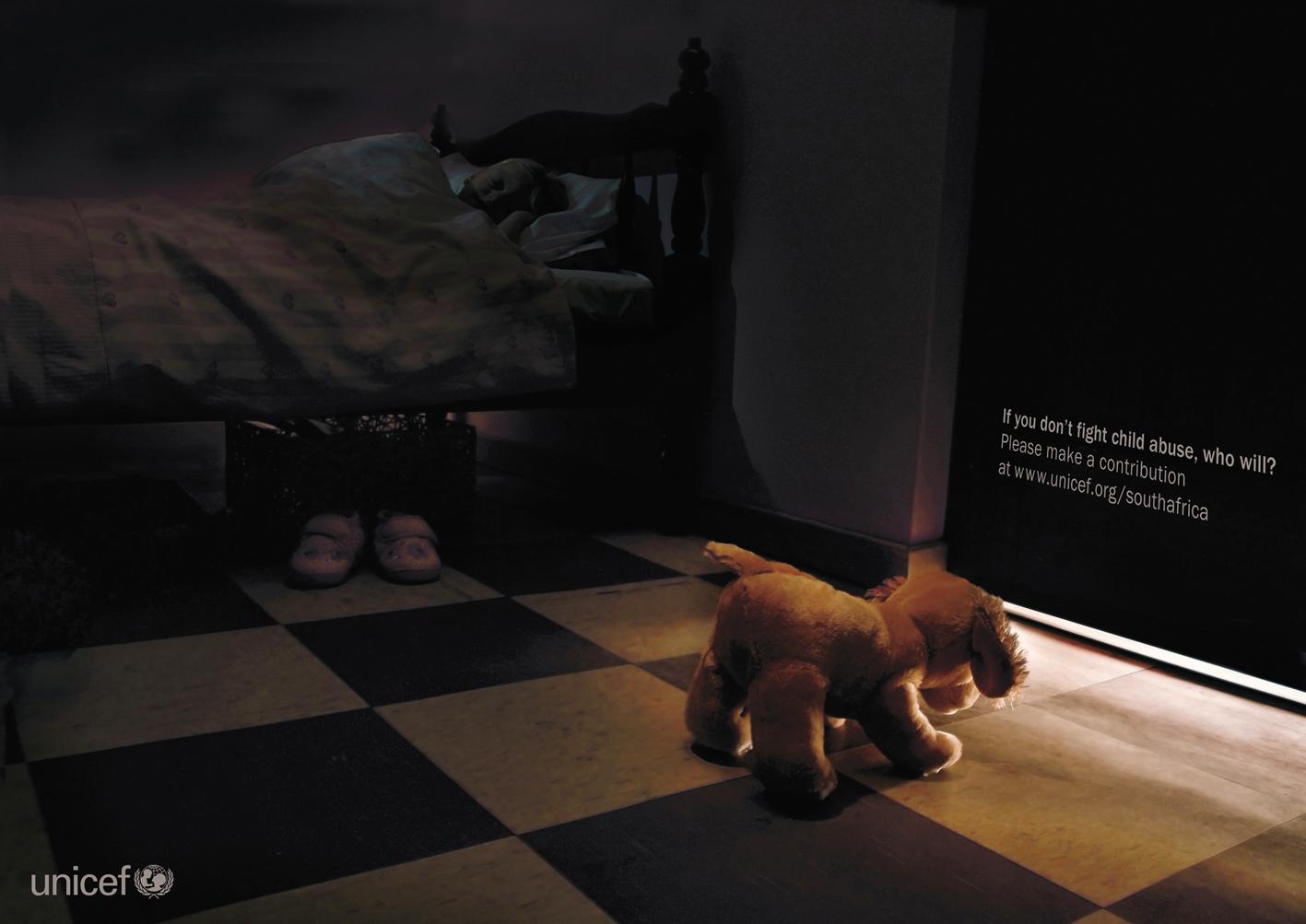 Print ad: : UNICEF: Fluffy Dog