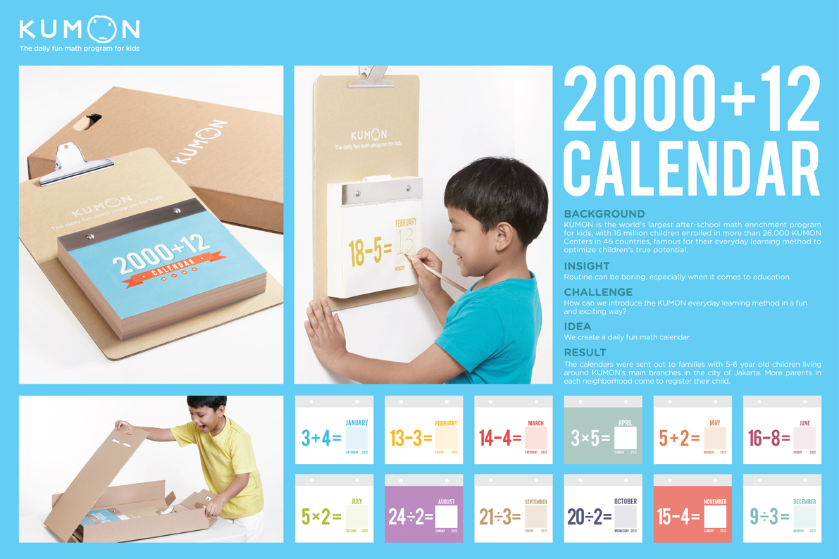 KUMON: Daily Fun Math Calendar | Direct | Pinterest