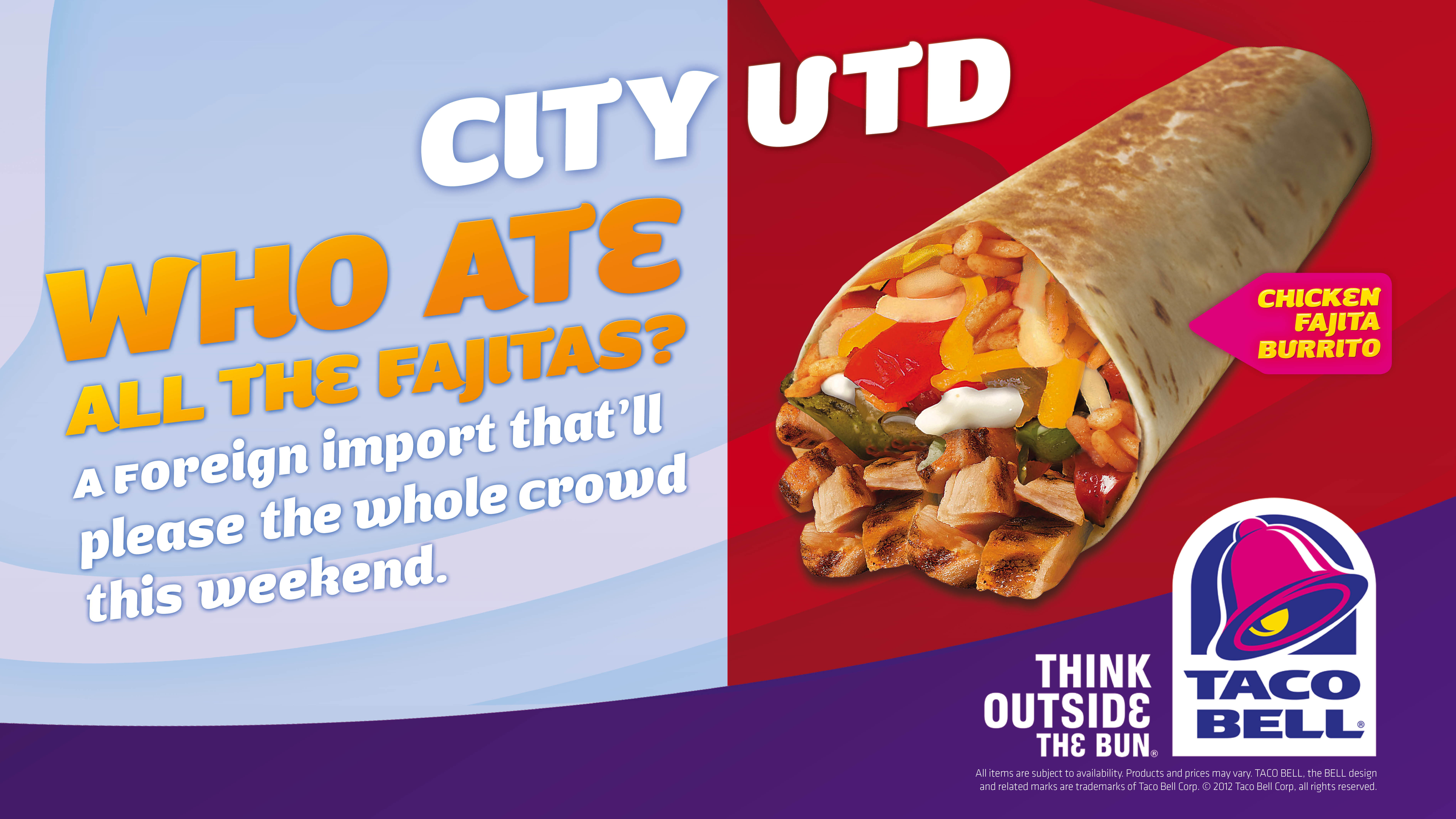 Outdoor Ad Taco Bell City United