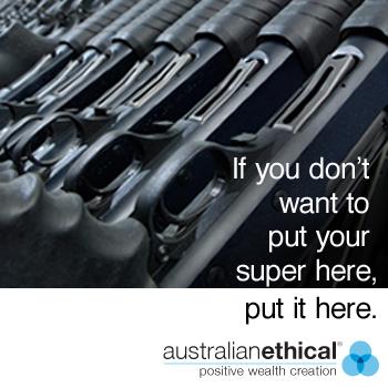 Print Ad Australian Ethical Guns