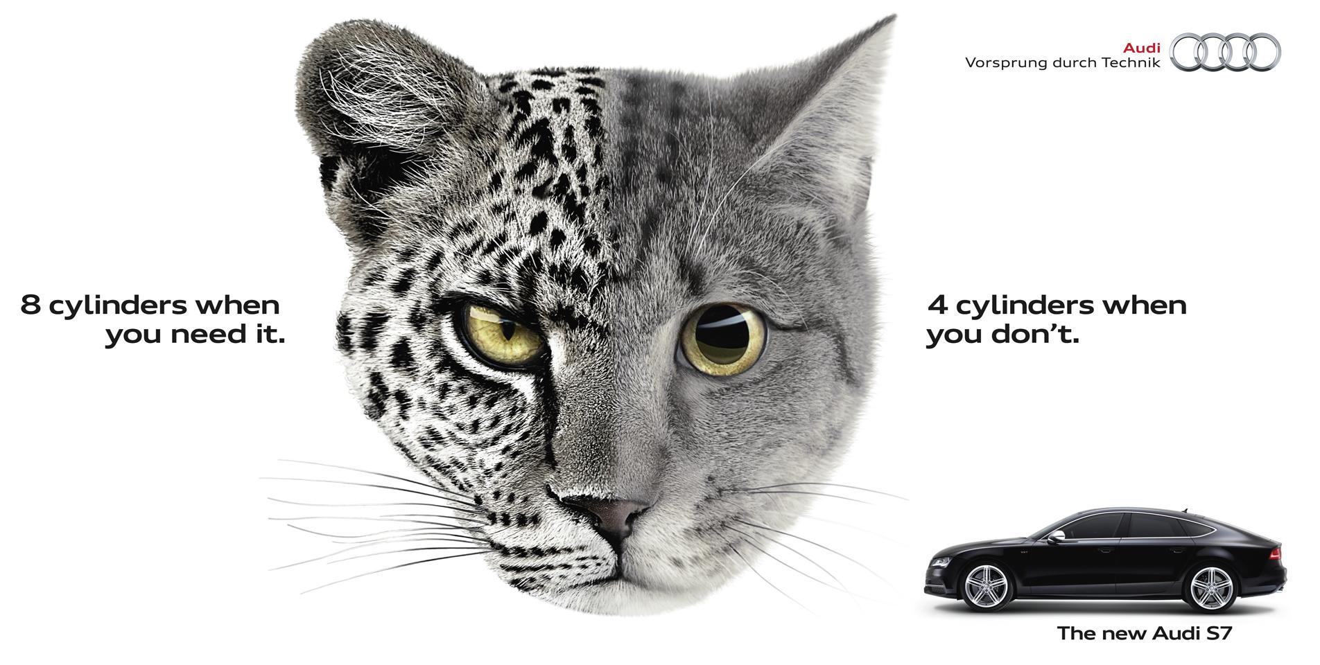 Outdoor Ad Audi Leopcat