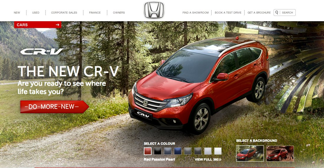 Interactive Ad Honda Cr V Do More New On Streetview