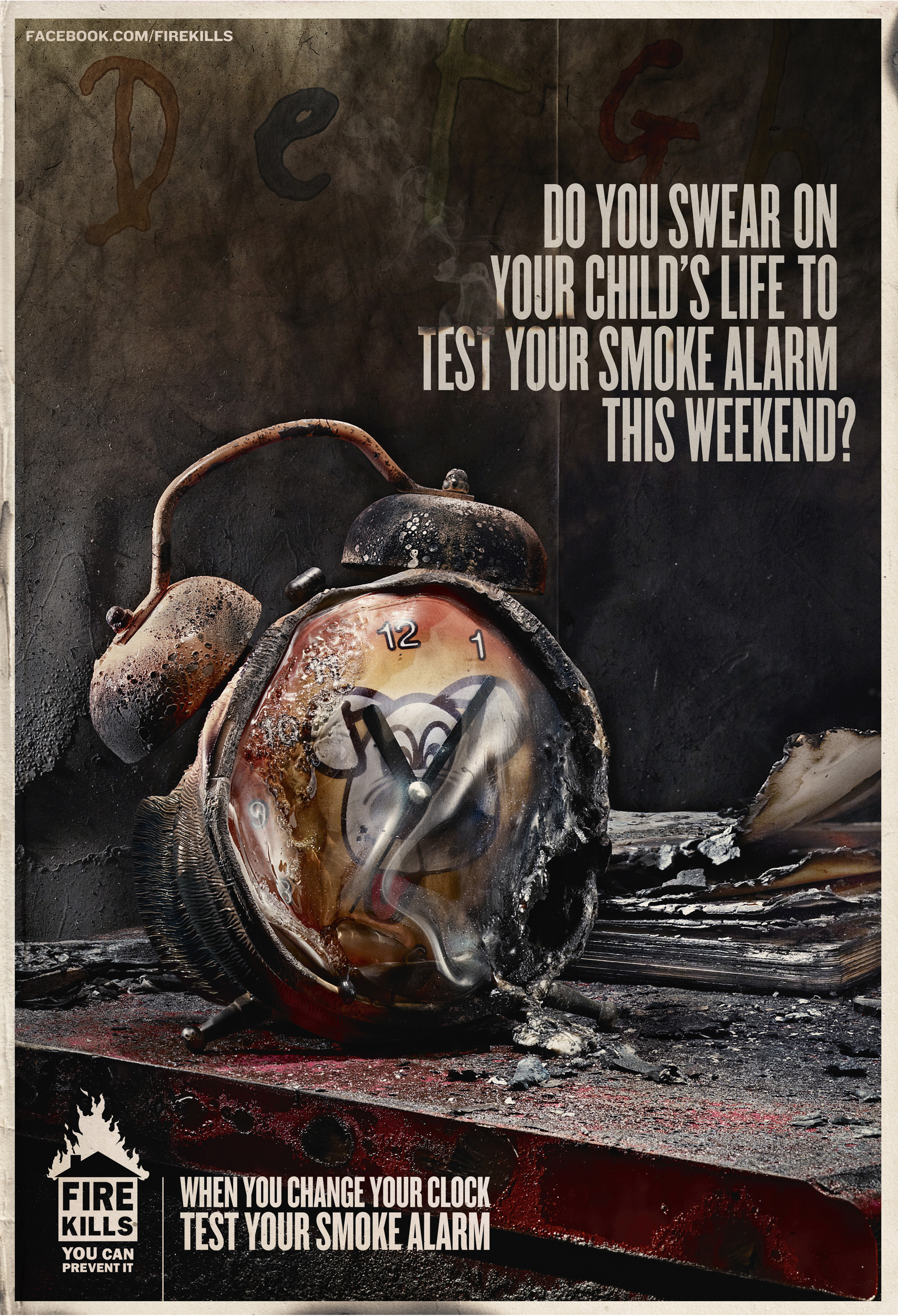 Print Ad Fire Safety Fire Safety