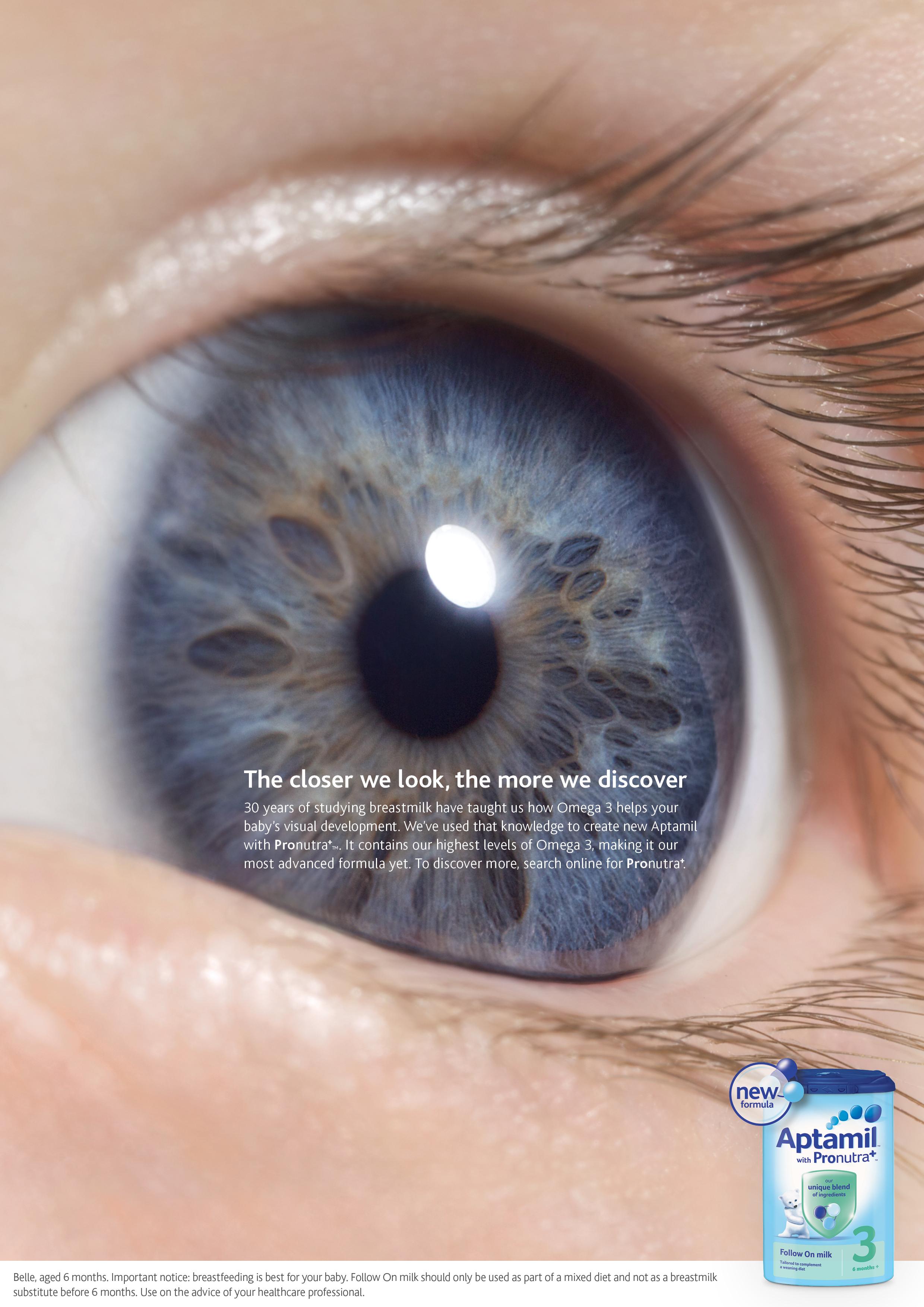 Print Ad Aptamil Eye