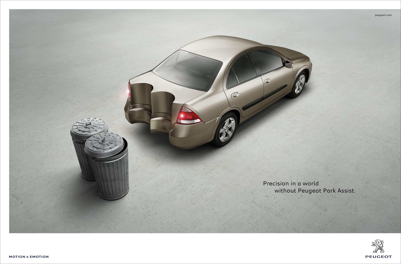 Print Ad Peugeot Park Assist Shape 1