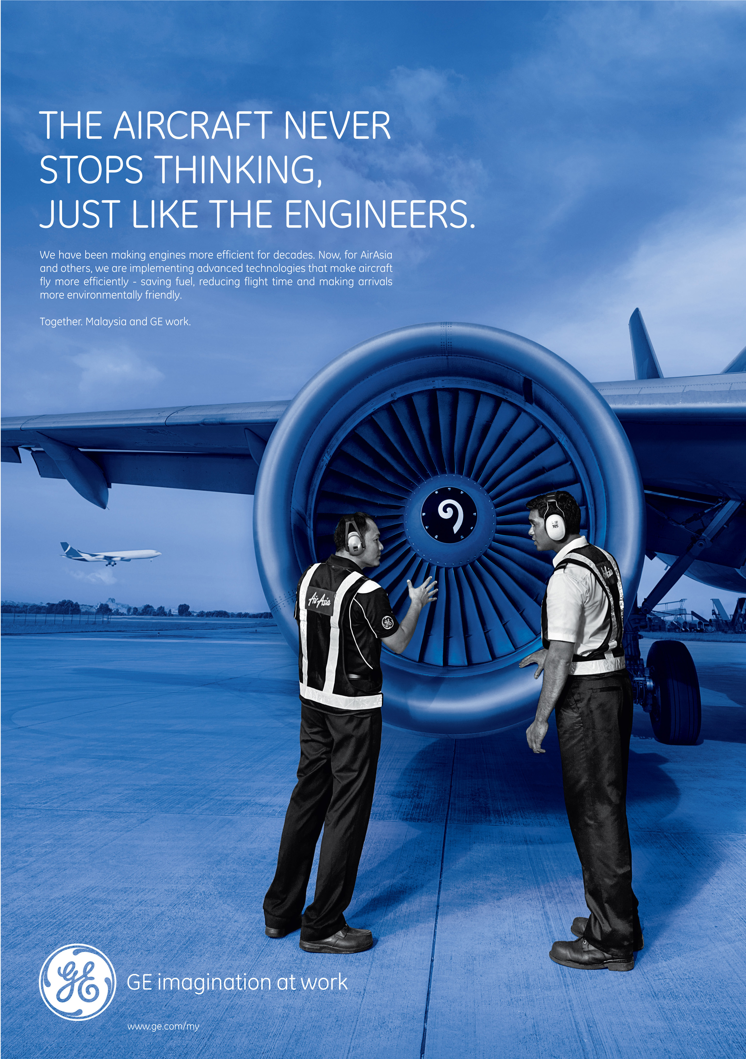 Print Ad General Electric Moving The Star