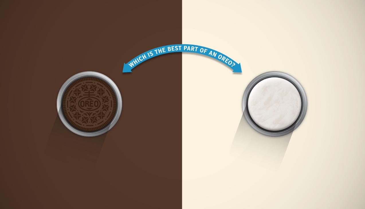 Interactive ad: Oreo: Super Important Test
