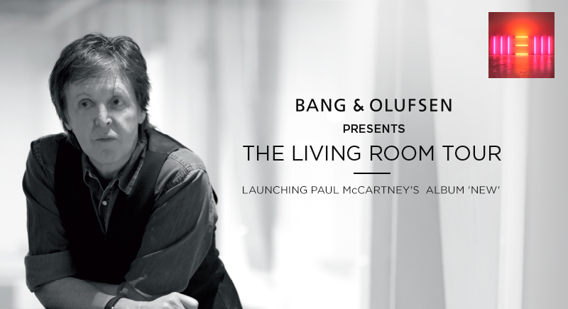 Interactive Ad Bang Olufsen The Living Room Tour