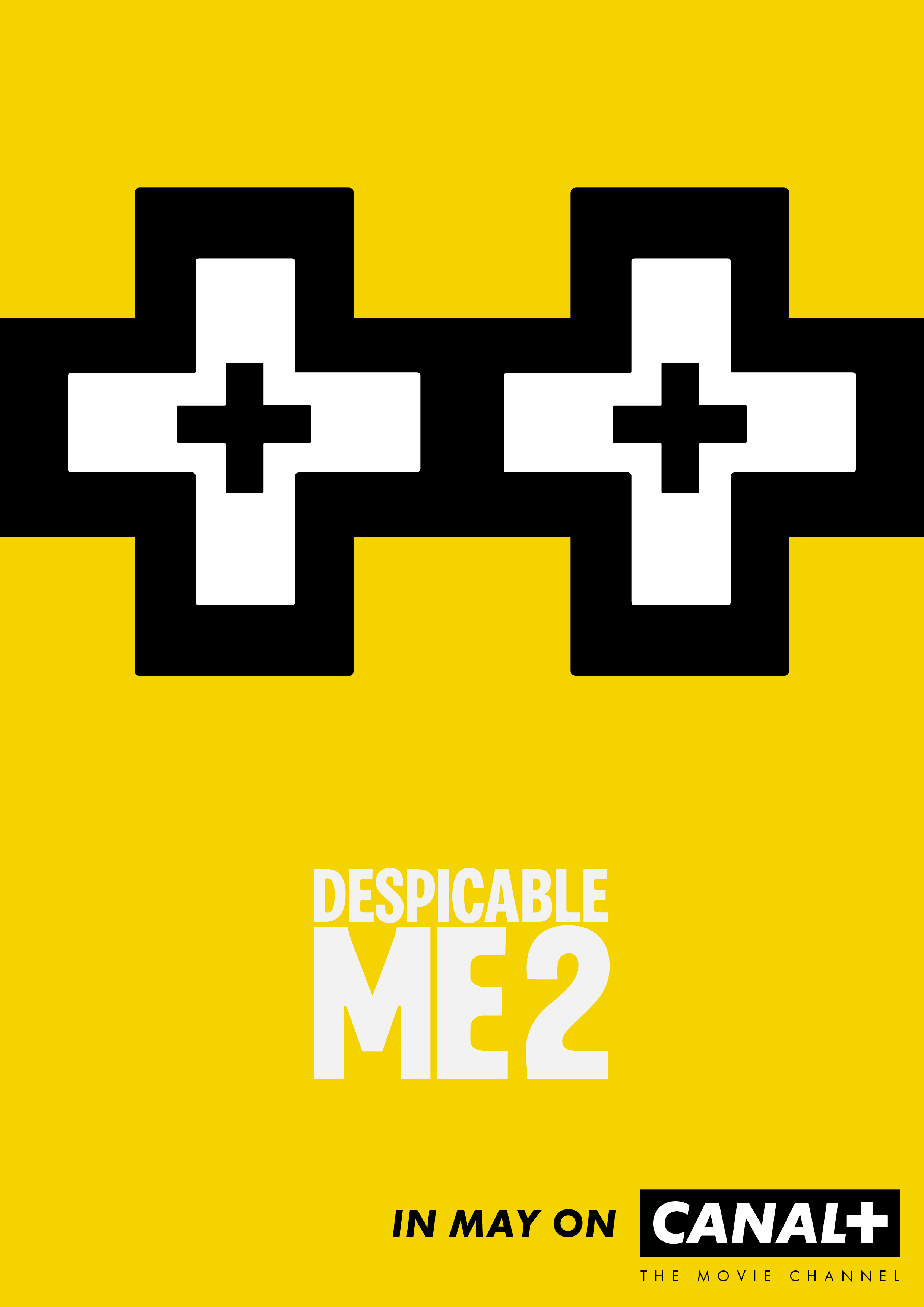 Outdoor Ad Canal Despicable Me 2