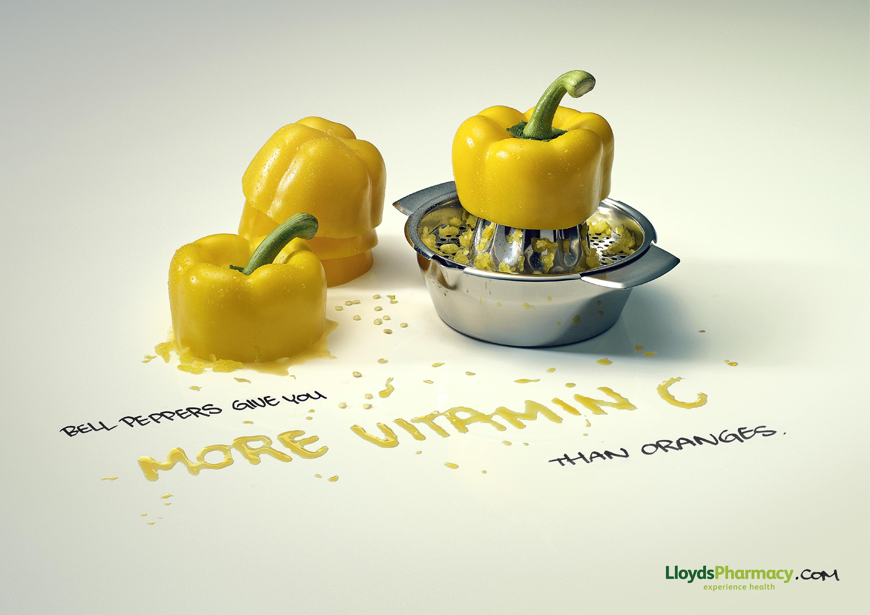 Print Ad Lloyds Pharmacy Oranges