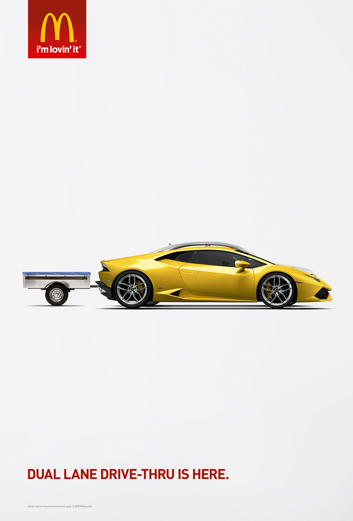 Print Ad Mcdonalds Supercar Trailer