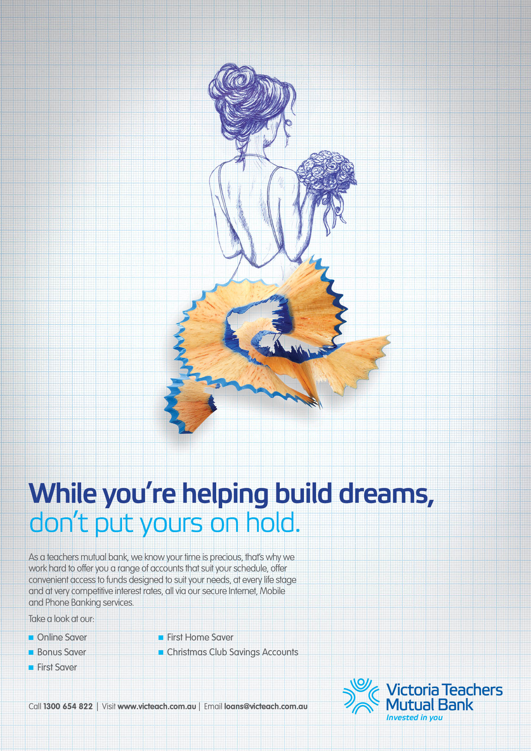 Brush By 10 Feet Tall For Victoria Teachers Mutual Bank Adsarchive Print Ads