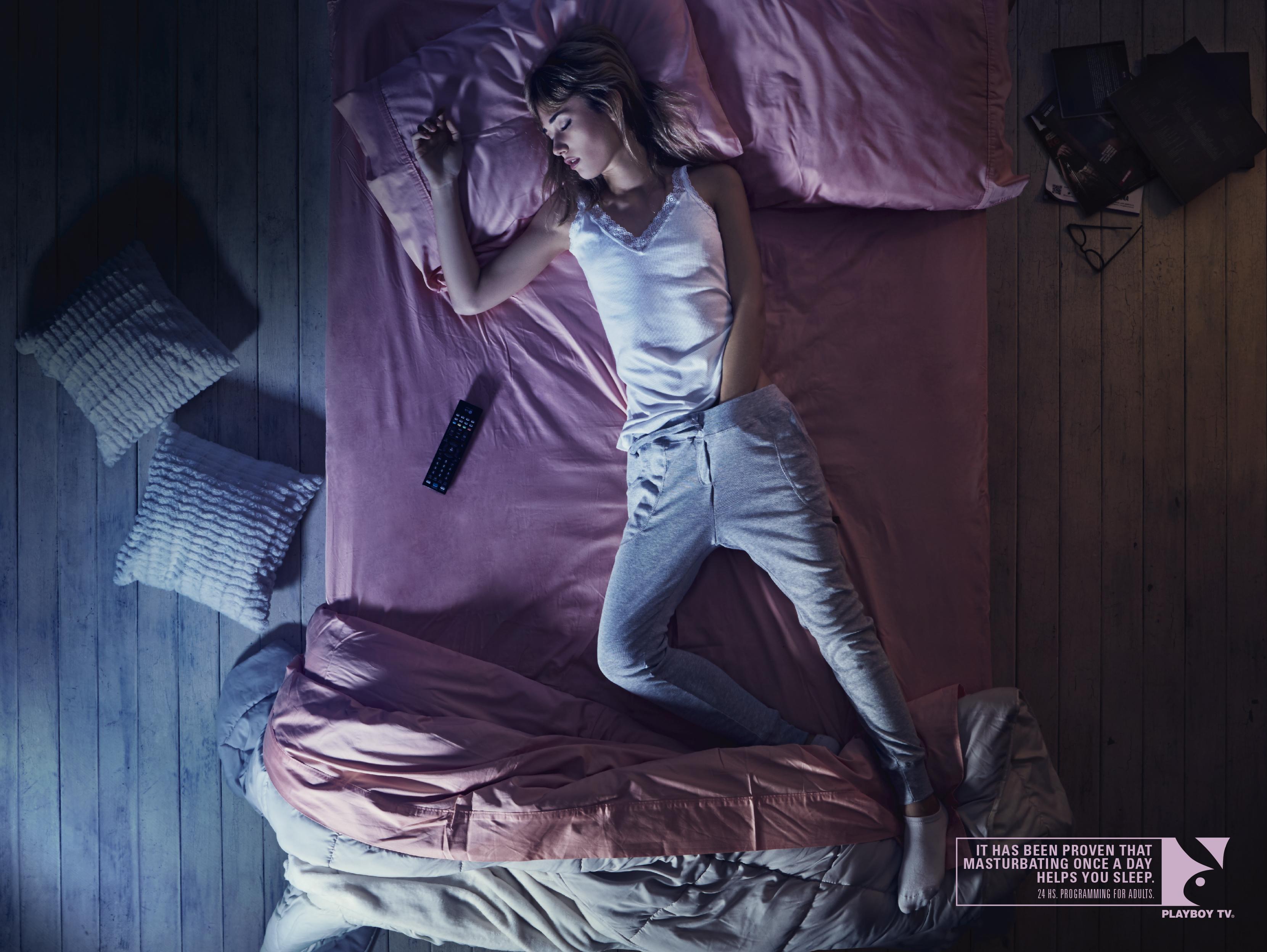print ad: playboy tv: sleepers
