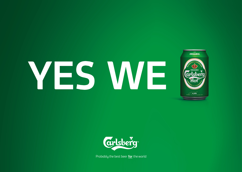 Print Ad Carlsberg Hof Probably The Best Recycled Slogan