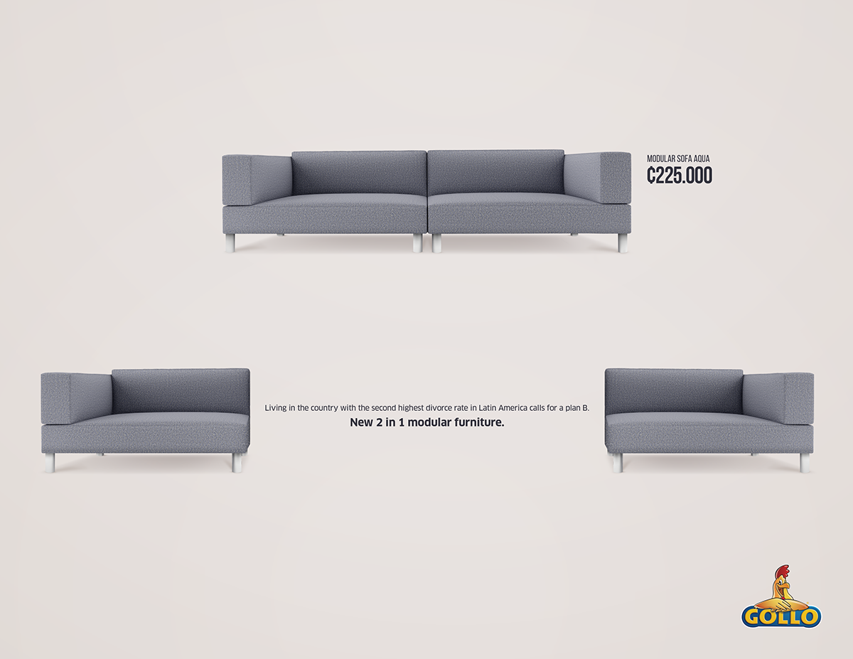 Print Ad Gollo Divorce Furniture 1