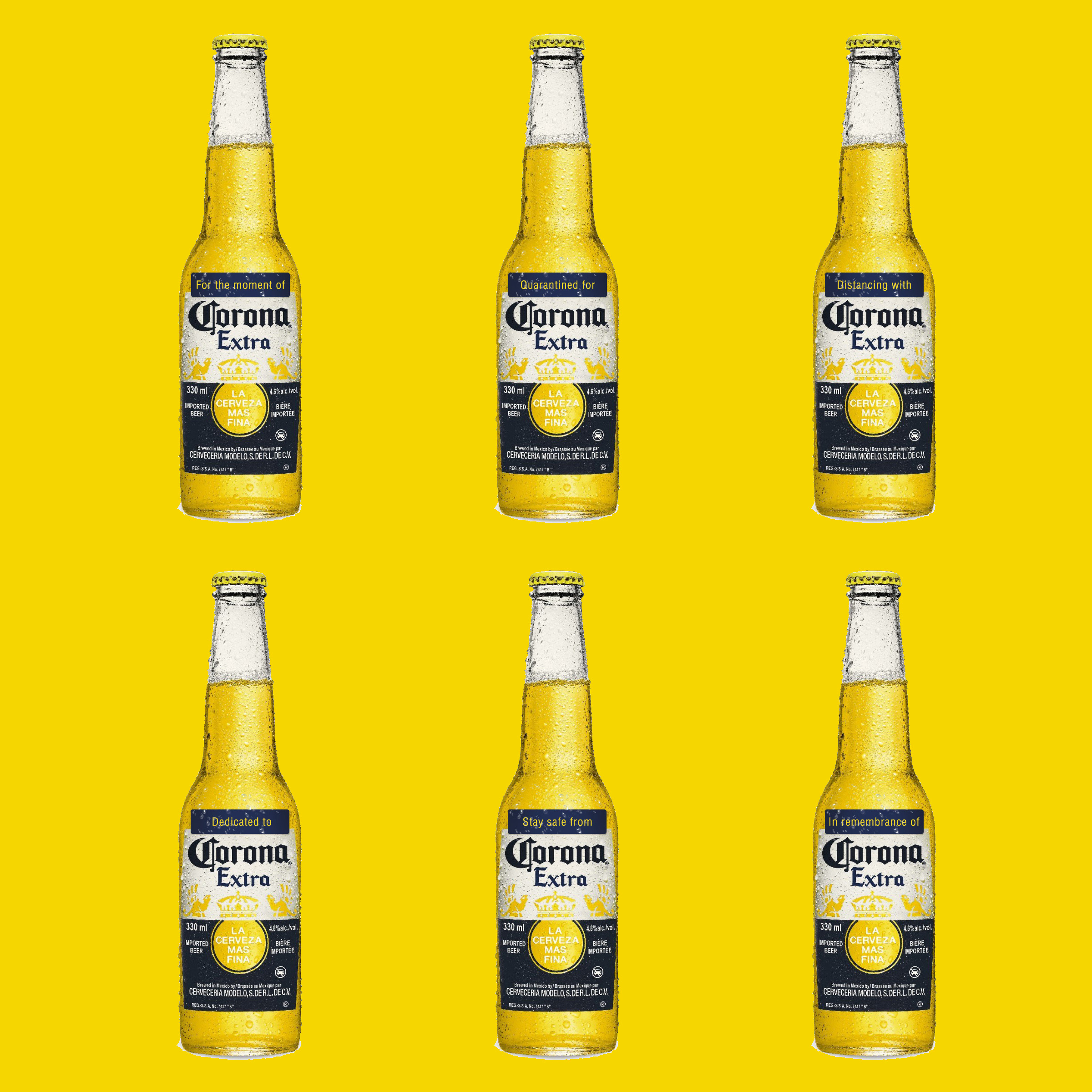 Print Ad: Corona: Having Corona During Corona