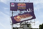 Taco Bell: Belly Heavy Billboard