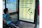Act Now for the future: The applauding bus shelter