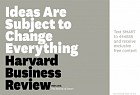 Harvard Business Review: The Revival of Smart - Ideas are Subject to Change Everything