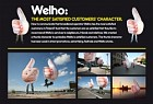 WELHO: THE MOST SATISFIEF CUSTOMER CHARACTER