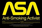 ASA: Anti-smoking activist