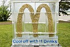 McDonald's: Ice sculpture