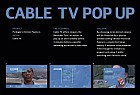 Chicken Popcorn: Cable TV Pop Up