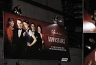 Upstairs Downstairs: The hand-lit billboard