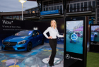 Mercedes-Benz Australia:  A-Class In-car projection