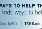 TSB Bank: Big or Better. Help.