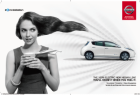 Nissan Leaf: Woman
