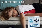 Decathlon: Tired footballer