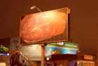 Double Grill&Bar: Flaming Billboard