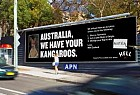 Hell Pizza: Australia, We Have Your Kangaroos - Ransom Note