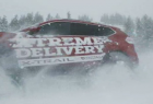 Nissan X-Trail: Xtreme Pizza Delivery Service