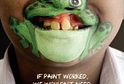 Operation Smile: The Painted Smile - Frog