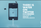 UNICEF France: There is Water on Twitter, 2