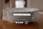 Give Registry: Plates