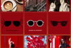 Sunglass Hut: Instagram Gradient