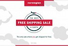 Norwegian Air: Best Free Shipping Sale on Earth