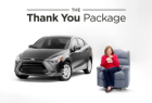 Toyota Yaris iA: The Thank You Package
