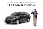 Toyota Yaris iA: The +1 Follower Package