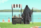 Water Safety New Zealand: The Swim Reaper: Swimming Juice