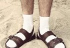 Gentleman: Socks and Sandals