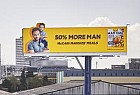 McCain: 50% More Man: Billboard